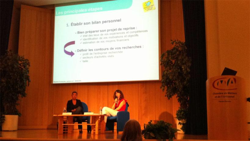Les Oséades - Conférence sur la reprise d'entreprise